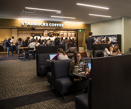 starbucks and students