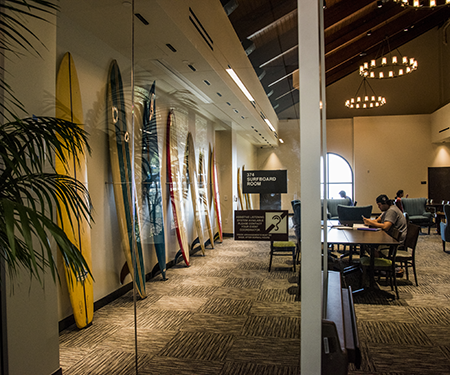 surfboard room