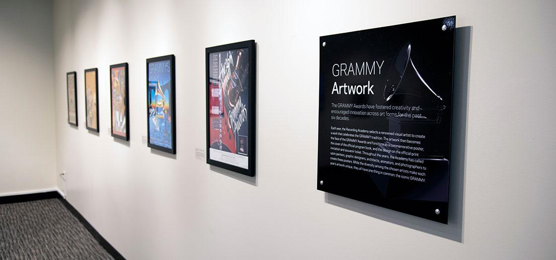 Artwork from the GRAMMY Collection