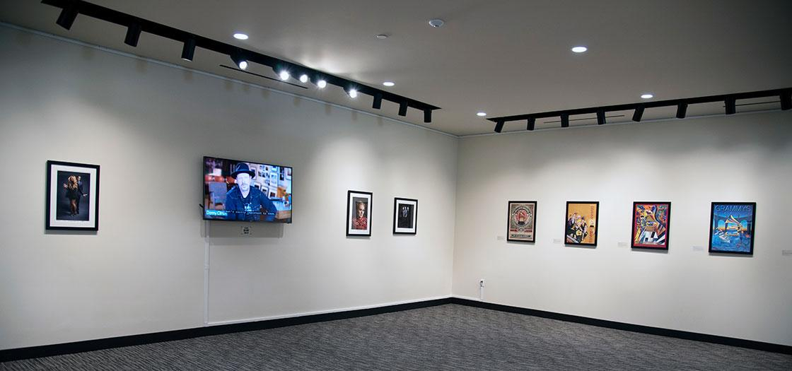 Images and posters from the GRAMMY Museum