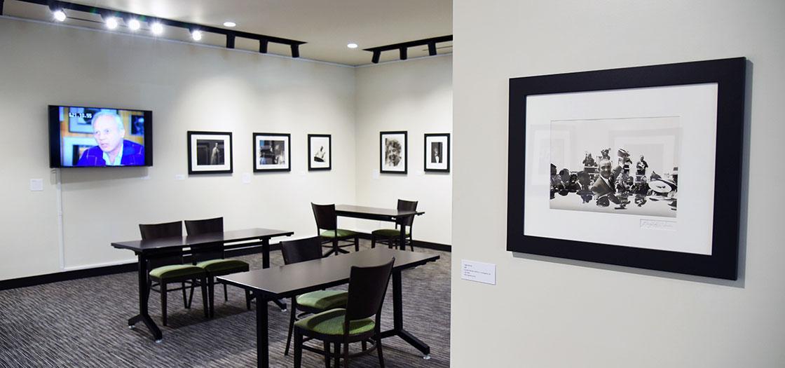 Exhibition of Wiener's photographs