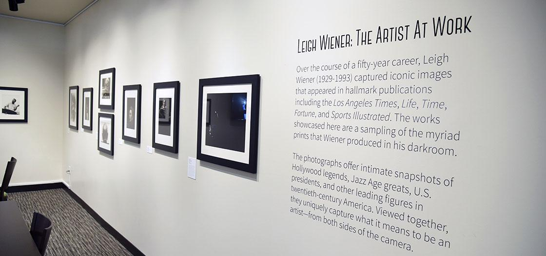 Introduction to the work of Leigh Wiener