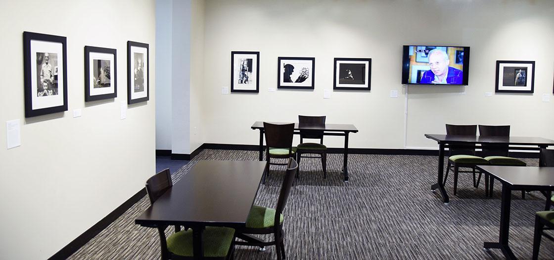 Gallery showing Wiener's photographs